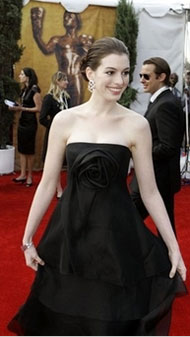 Anne Hathaway - Photo from Yahoo