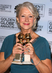 Helen Mirren wins two Golden Globe Awards