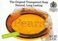 Pear's Soap, the Original Tranparent Soap