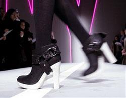 Platform Shoes at Donna Karan's New York Fashion Week Show