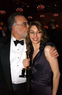 Francis and Sofia Coppola