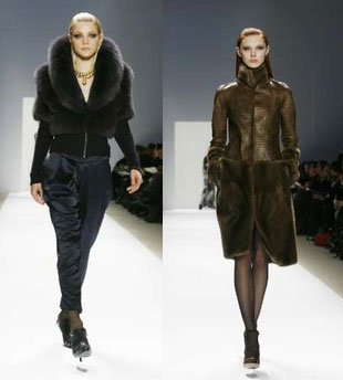 Fur at Carlos Miele at New York Fashion Week Fall Previews