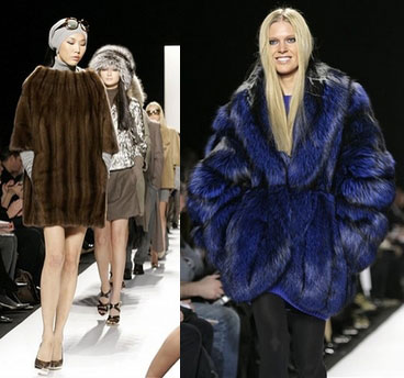Fur at Michael Kors at New York Fashion Week Fall Previews
