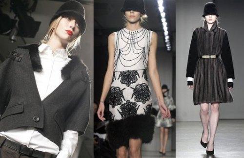 Fur at Proenza Schouler at New York Fashion Week Fall Previews