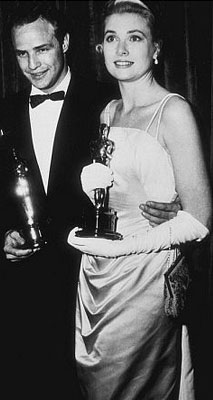 Grace Kelly with her Academy Award