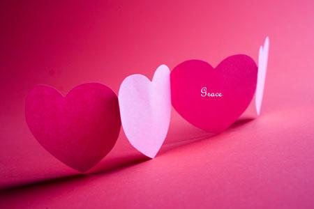 Happy Valentine's Day from Grace Magazine