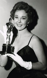 Susan Hayward with her Academy Award