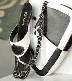 Prada Shoes and Chanel Bag at bluefly.com