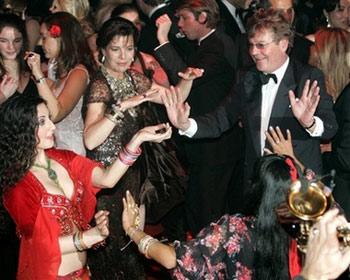 Dancing at the 2007 RoseBall
