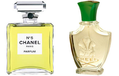 Chanel No. and Fleurissimo by Creed
