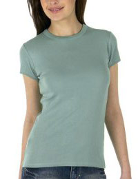Mossimo Tee in Teal Refuge