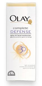 Olay Complete Defense Daily UV Moisturizer SPF30