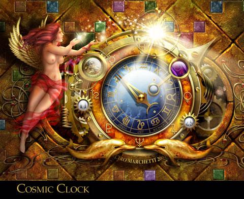 Cosmic Clock by CiroMarchetti