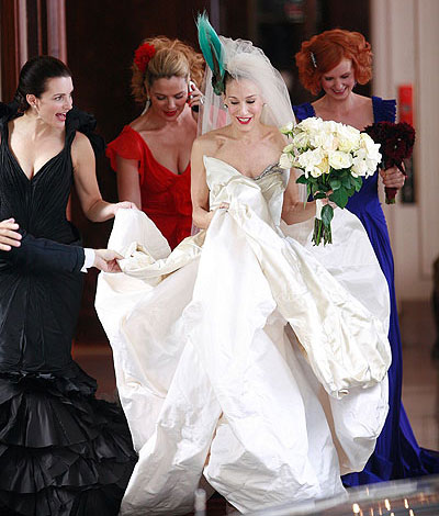 Carrie Bradshaw Wedding Dress