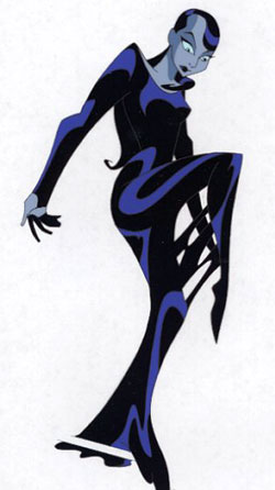 Inque from Batman Beyond
