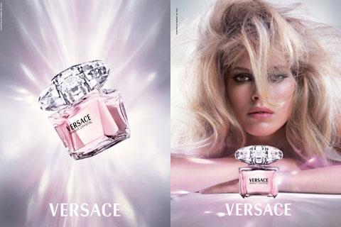 Versace perfume ad