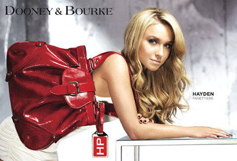 Hayden Panettiere for Dooney and Bourke
