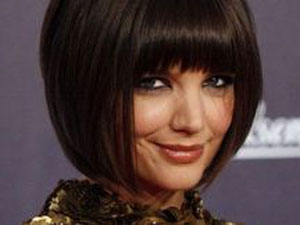 Picture of Katie Holmes new haircut