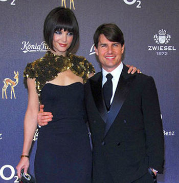 Picture of Katie Holmes newhaircut