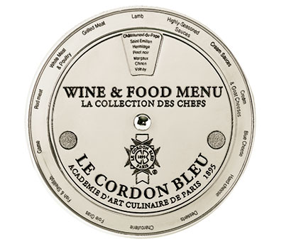 Le Cordon Bleu Wine And Food Menu