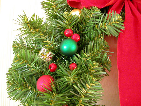 Christmas Wreathdetail