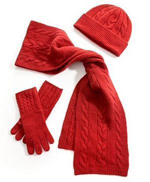 Cashmere Scarf Set at Macy's