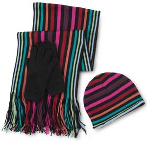 Soft Knit Scarf Set at J.C. Penney