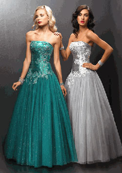 Alyce best-selling tulle prom dress