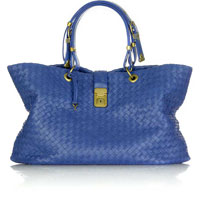 Bottega Veneta Intrecciato Leather Shopper