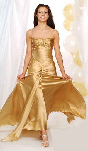 Clarisse Beyonce style prom dress