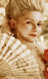 Kirsten Dunst as MarieAntoinette