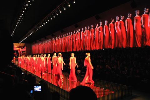 Valentino's Last CoutureShow