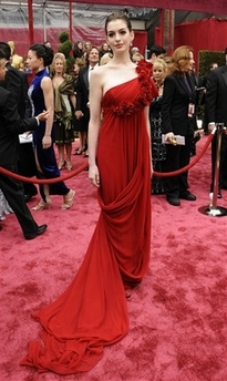 Anne Hathaway at theOscars