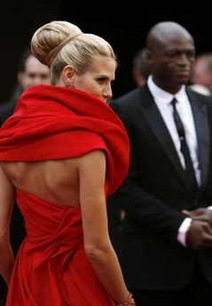 Heidi Klum at the Oscars