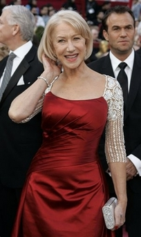 Helen Mirren at the 2008 Academy Awards