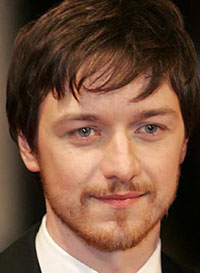 James McAvoy at the BAFTAs