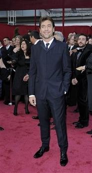 Javier Bardem on the redcarpet