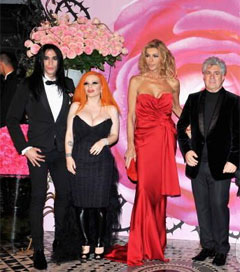 Special Guests at the 2008 Rose Ball in Monaco