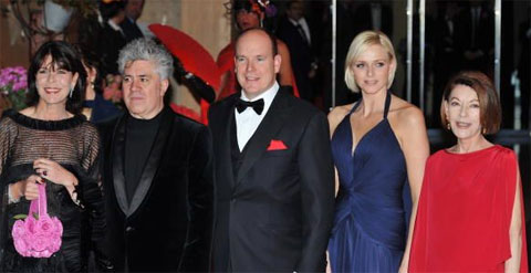Pictures From the 2008 Rose Ball in Monaco -Arrivals