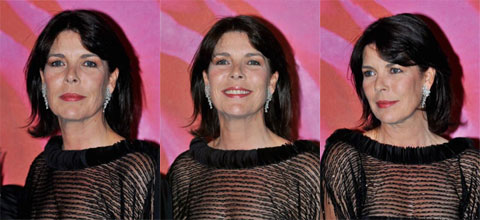 Princess Caroline at the 2008 Rose Ball
