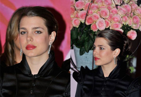 Pictures of Charlotte Casiraghi at the 2008 Rose Ball inMonaco