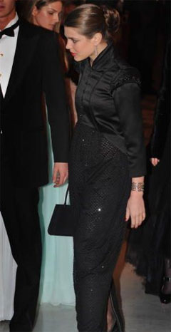 Charlotte Casiraghi's dress at the 2008 Rose Ball in Monaco