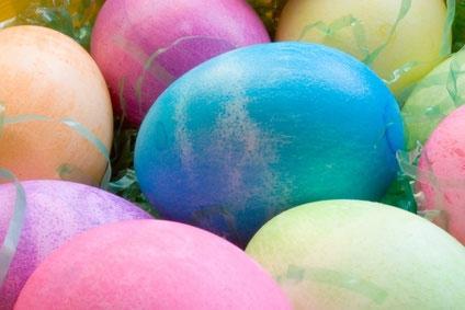 Colored EasterEggs