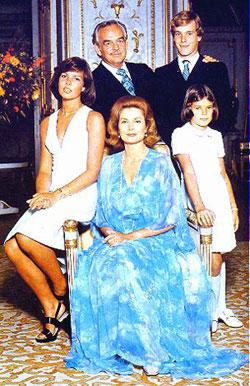 Grimaldi familyportrait