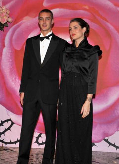 Pierre Casiraghi and Charlotte Casiraghi
