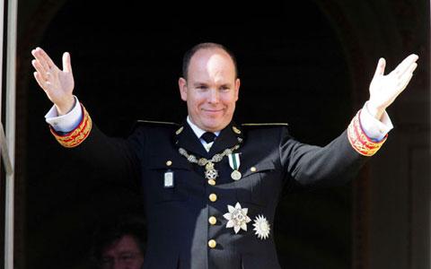 Prince Albert ofMonaco