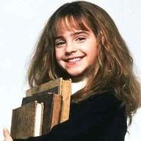 Emma Waton as Hermione Granger