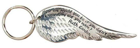 Ruth Gordon Key Ring