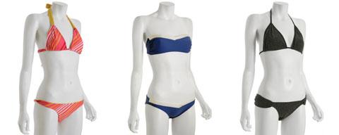 Swim Suits by Salinas, Brette Sandler, Trinny Ferrazzy
