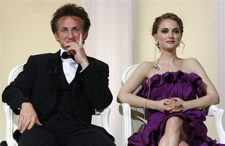 Sean Penn and Natalie Portman